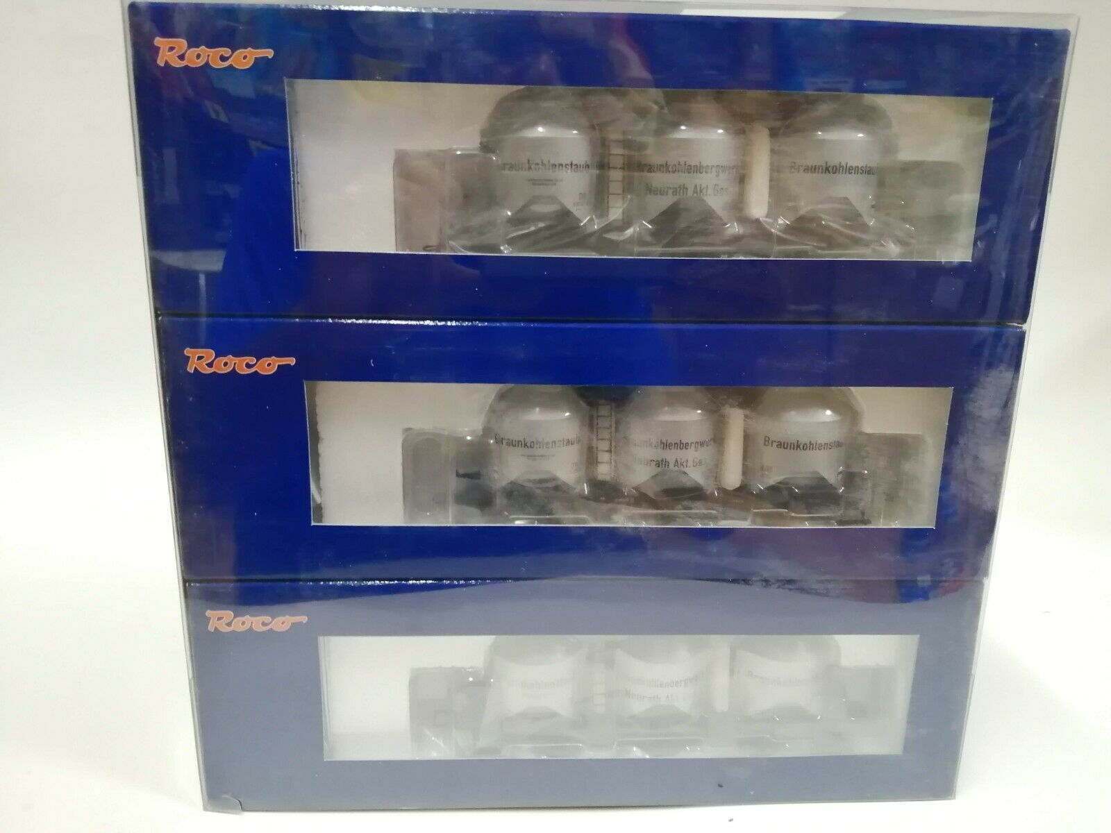 ROCO 66091 h0 3 pezzi polvere Caldaia autorelloSet DB NuovoScatola OriginaleCon Garanzia