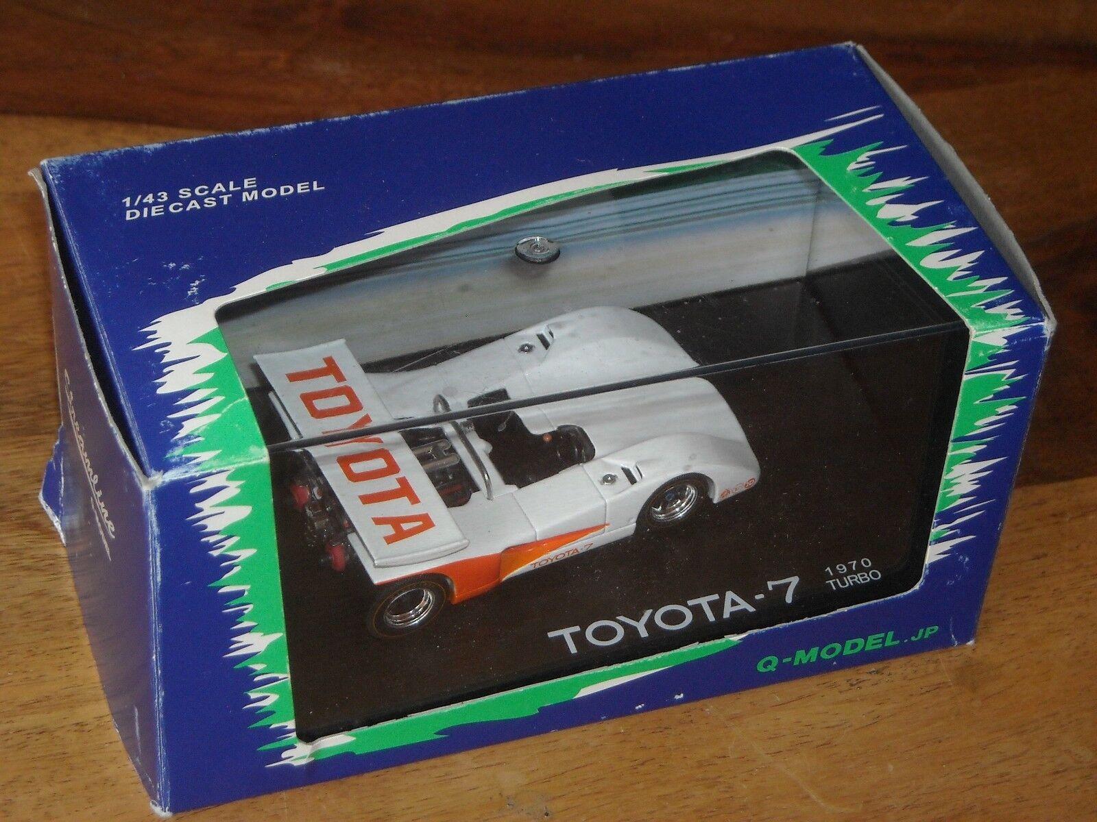 Q-Model Streamline QMC-007 white orange Toyota-7 1970 Turbo S.Hosoya 1 43