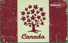 Walmart Canada Canada Maple Tree GIFT CARD FROM CANADA BILINGUAL NO VALUE