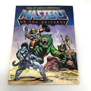 "He-Man MOTU Mini Comic ""KING OF CASTLE GRAYSKULL"" 1980S MATTEL"