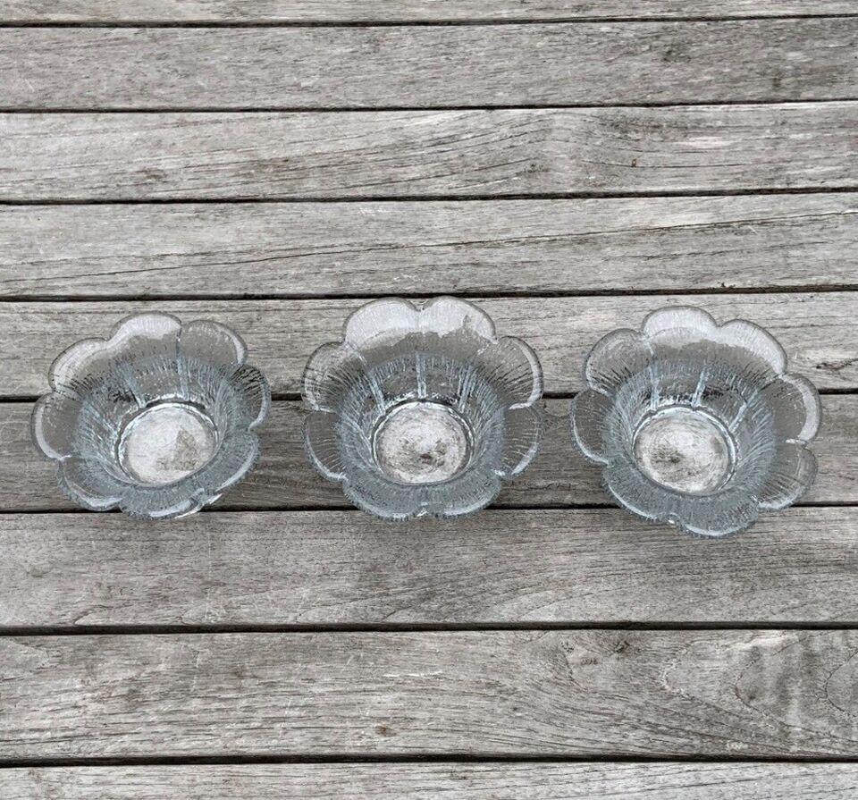 Glas, Fyrfadsstager, Holmegaard