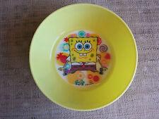 Piatto in plastica con fondo in 3D SpongeBob - nuovo