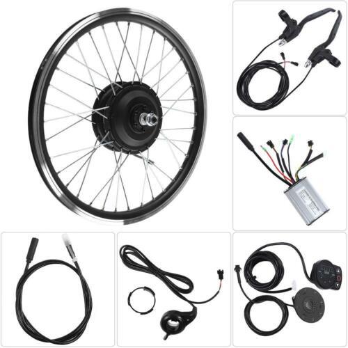 36V//48V 350W DIY Front Rear Motor KT900S LED Electric Bike Conversion Refit Kit