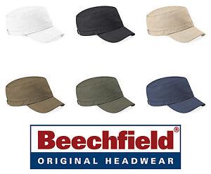 a6282da8f6 chapeau BEECHFIELD CASQUETTE ARMÉE militaire COTON - 6 couleurs # | eBay