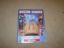 1995 Boston Garden memories program Celtics Bruins LAST YEAR OF THE GARDEN