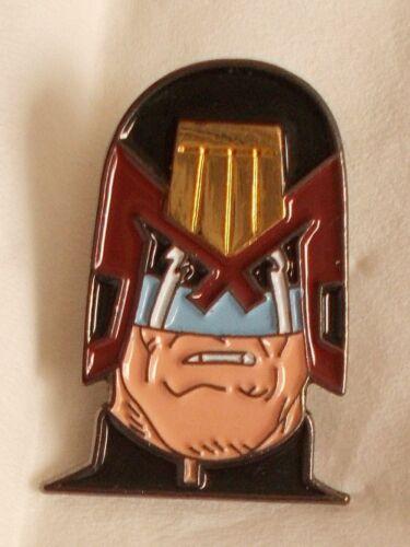 Judge Dread Enamel pin badge Marvel Comic Book I am the law Slyvester Stallone