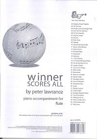 WINNER SCORES ALL Lawrance Flute Piano Accomps
