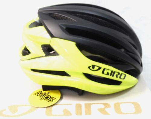Giro Syntax MIPS Matte Highlight Yellow Matte Black Small