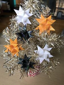 Steelers Christmas Ornaments.Details About 6 Handmade Paper Froebel Moravian Stars Pa German Christmas Ornaments Steelers