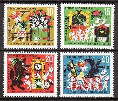 408-411 Postfrisch Luxus!! Nr Elegant Und Anmutig Nett Brd 1963 Mi