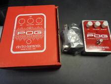 new Electro Harmonix Micro Pog polyphonic octave generator guitar effect pedal
