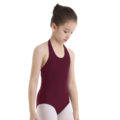 Girls Ballet Dance Dress Leotard Gymnastics Bodysuit Dancewear Costume Outfit