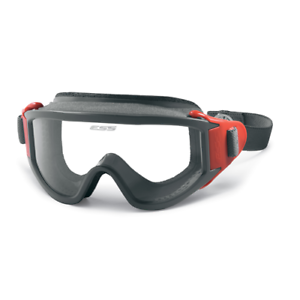 bee6b1bc1af Eye Safety Systems ESS X-Tricator Fire Safety Goggles Red w  Clear ...