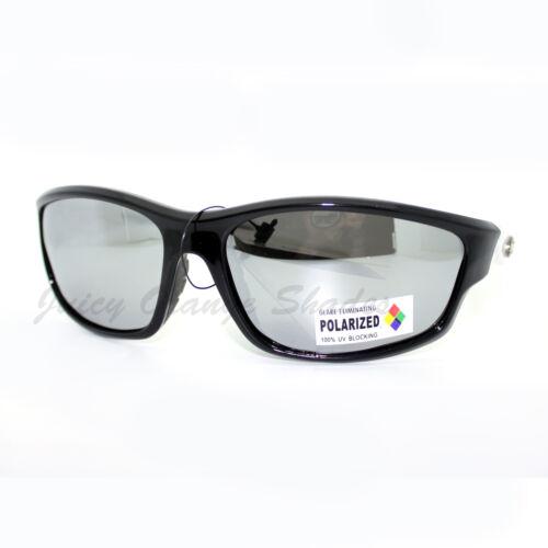 Xloop Polarized Mirror Lens Sunglasses Sports Oval Wrap Around Fashion