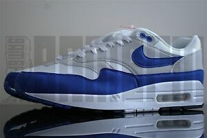 Details about Nike AIR MAX 1 OG ANNIVERSARY 6 7 8 9 10 11 12 13 WHITE BLUE am1 87 tier 0 am87