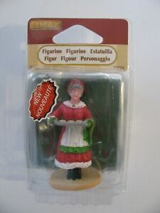 Lemax Christmas Village Figurine MRS. CLAUS COOKIES #92759NIP FREE SHIPPING