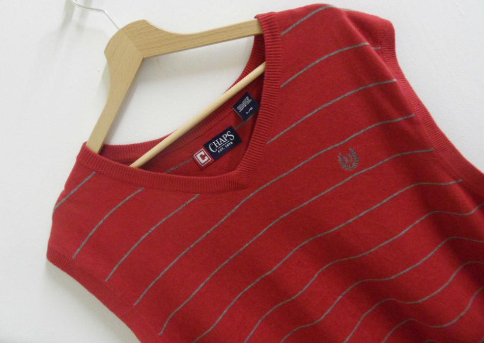 Mens Chaps By Ralph Lauren  Sweater Vest Tank Top Größe Large Original    TS35 | Guter Markt