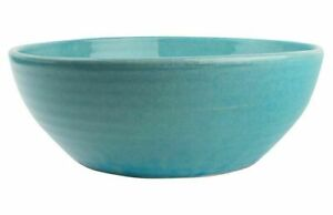 Canvas C45-LG-BL Sintra Blue Glazed Terra Cotta Planter