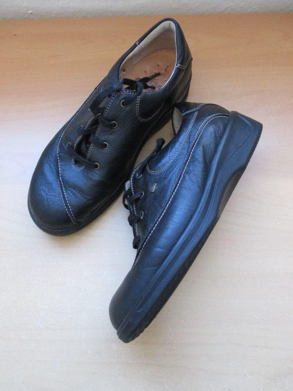 Moda barata y hermosa Descuento por tiempo limitado Finn Comfort Damen Schuhe 5,5-38,5 L schwarz Schnürschuhe Loafer/A