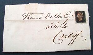 1840-1d-PENNY-BLACK-RARE-VERMILION-BRISTOL-MALTESE-CROSS-MX-ON-GB-COVER-CV-3000