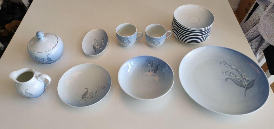 Porcelæn, Stel, bing og grøndahl liljekonval