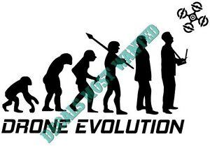Image Is Loading Drone Decal Sticker 034 Evolution UAV