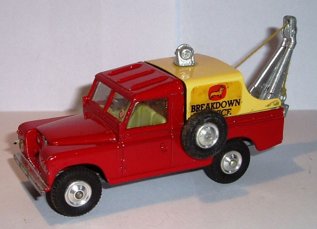 Corgi 417s 1960's 1st Issue Landrover Breakdown Mint in Near Mint Original Box