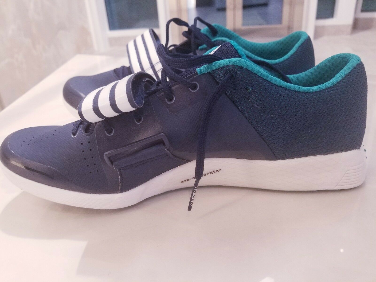 neue adidas performance adizero tj laufschuhe / pv - blauen laufschuhe tj af5664 track größe. 05ec9a
