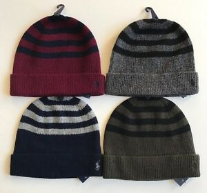 96b60dbef NWT Mens Polo Ralph Lauren Rib Knit Wool Cashmere Striped Cuffed ...
