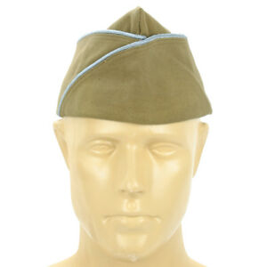 U-S-WWII-Garrison-Cap-PX-with-Infantry-Paratrooper-Blue-Piping-7-75-62-cm