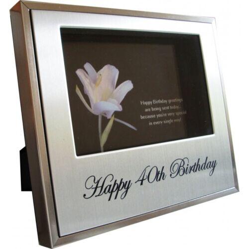 40th Birthday Photo Frame 40th keepsake Birthday Photo Frame 40th Gift