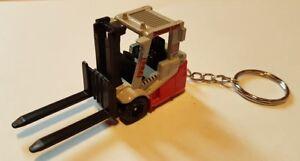 Diecast Forklift Power Lift Matchbox Keyring Keychain Ebay
