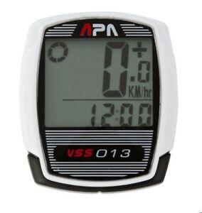 Nouveau APA Cycle Ordinateur VSS013-sans fil/Vitesse/Distance/Temps  </span>