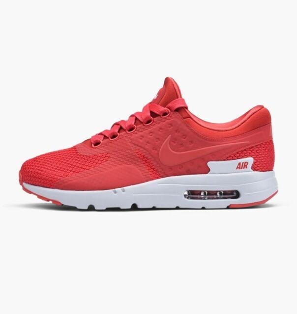 ee724150e07b Nike Air Max Zero Premium 0 Men Lifestyle SNEAKERS Gym Red 881982 ...