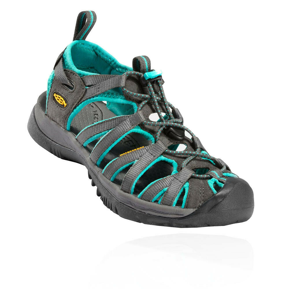 Keen Whisper damen grau Walking Trail Outdoors Walking Sandals Summer schuhe