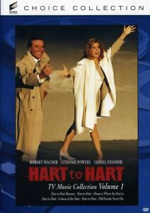 Hart-to-Hart-TV-Movie-Collection-Volume-1-4-Disc-DVD-NEW