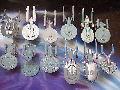 Star Trek Micro Machines Scale: USS Enterprise NCC-1701 NX-01,TOS,A,B,C,D,E