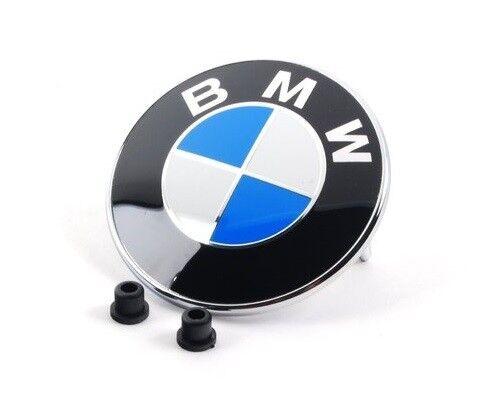 BMW 82MM GENUINE OEM BONNET BADGE 51148132375 FOR X3 SERIES SE