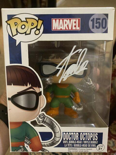 Stan Lee Marvel Signed Doctor Octopus Funko Pop 150 Autographed Excelsior COA