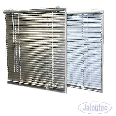 Rollo In Silber Und Weiss Factory Direct Selling Price Jalousette Original Klemmfix Alu Jalousie Aluminium