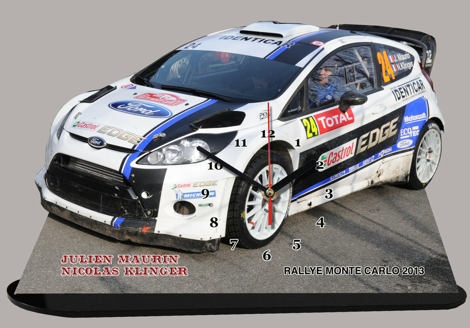 MINIATURE, MODEL CARS MAURIN, FORD FORD FORD WRC,MONTE CARLO 2013 en horloge 7ee1ef