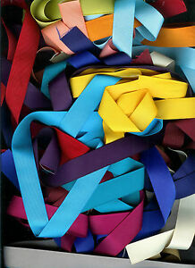 25 yds 7//8 inch grosgrain ribbon 1 yard of 25 colors Lot all solid  Lot 5 spring