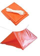 SE Camping Tube Tent 8.25' x 6' Orange Color ET8256