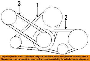 nissan oem 90-96 300zx 3.0l-v6 serpentine drive-alternator ... nissan 300zx engine diagram intake 1996 nissan 300zx belt diagram
