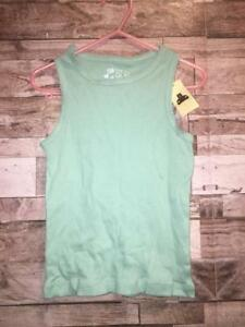390f23c61 NWT BABY GAP BABYGAP TODDLER GIRLS 5T 5 RIBBED TANK TOP MINT BLUE ...