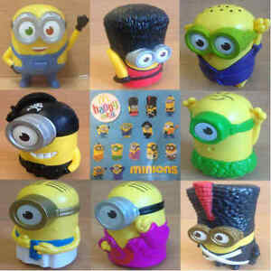 McDonalds-Happy-Meal-Toy-2015-Minions-Mischief-Museum-Plastic-Toys-Various