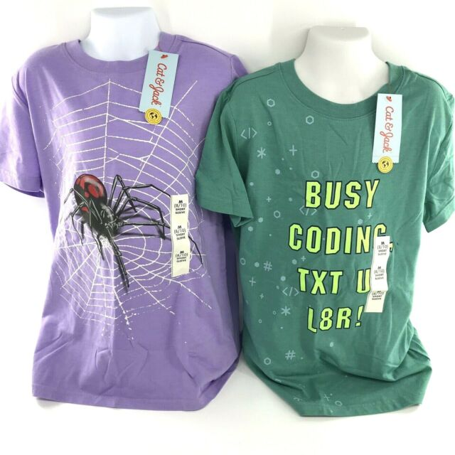 Girls Clothes Size M (8/10) Bundle Of 2 Pcs - 2 Shirts -All NEW With Tags -AR256