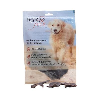 Contemplativo Selvaggio & Bene Snack Per Cani Fleischstreifen Dal Hirsch 100 Gr. Barf