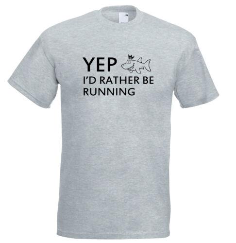 Juko yep je préfère courir drôle t shirt