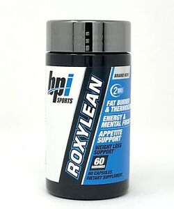 BPI Roxylean Fat Burners Extreme Weight Loss Supplement, 60 Count